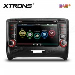 "7""HD Digital Touch screen Built-in DAB + Tuner custom Fit for Audi TT MK2"