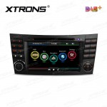 """7""""HD Digital Touch screen Dual canbus GPS Navigator Car DVD Player with Screen Mirroring Function Built-in DAB + Tuner custom Fit for Mercedes-Benz"""