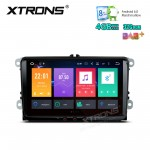 "9"" HD Digital Octa-Core 64bit DDR3 4GB RAM + 32GB ROM Android 6.0 Multi Touch Screen Car Stereo Custom Fit for VW 