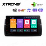 9'' Android 9.0 Octa-Core 32GB ROM + 4G RAM Multimedia Stereo with GPS Custom Fit for BMW / Rover / MG