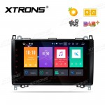 "Android 8.0 Octa-Core 32GB ROM + 4G RAM Multimedia Player with 9"" Display Custom Fit for Mercedes-Bens"