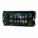 "6.95""Android 5.1 Lollipop 64-bit Operating System  Quad Core Car DVD Player with Screen Mirroring Function & OBD2 for Jeep"