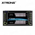 6.2 inch HD Capacitive Touch Screen WinCE 6.0 GPS Multimedia DVD Player with 7 Color Button Lights Custom Fit for Toyota