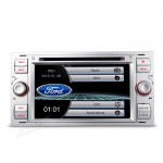 "7"" HD Digital Touch Screen DVD Player With  GPS Navigator & Screen Mirroring Function For Ford Focus"