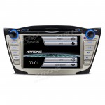 """7"""" HD Digital Touch Screen GPS Navigation Car DVD Player with Screen Mirroring Function Custom Fit for Hyundai IX35"""