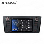 "7"" HD Digital Touch Screen Dual CANbus GPS Navigation Car DVD Player with Screen Mirroring Custom Fit for BMW 1 Series"