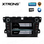 "7""HD Digital Touch Screen GPS CANbus Car DVD Player With Screen Mirroring Function For Mazda"