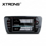 """7"""" HD Digital Touch Screen Dual canbus GPS Navigator Car DVD Player with screen mirroring function Custom Fit for SEAT"""