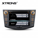 "7""HD Digital Touch Screen DVD Player With GPS Navigation & Screen Mirroring Function For Toyota RAV4"