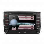"7"" HD Digital Touch Screen Dual Canbus GPS Navigator Car DVD Player with Screen Mirroring Function"