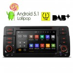 """7 """"Android 5.1 Lollipop 64-bit Operating System Quad Core Car DVD Player  With Screen Mirroring Function & TPMS Function & OBD2 For BMW E46/320/325"""