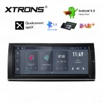 10.25 inch Android 9.0 Hexa Core 64G ROM + 4GB RAM Car DVD Receiver Navigation System with HDMI Output Custom Fit for BMW