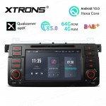 "7""Android 10.0 Hexa Core 64GB ROM + 4G RAM car DVD Receiver Navigation System with HDMI Output Custom Fit for BMW / Rover / MG"