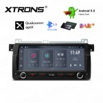 8.8 inch Android 9.0 Hexa Core 64G ROM + 4GB RAM Multimedia Receiver GPS Navigation System with HDMI Output Custom Fit for BMW