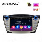 "7"" Android 8.1 Octa-Core Car Stereo Smart Multimedia Player Custom fit for Hyundai"