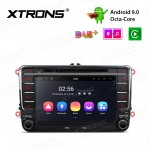 7 inch Android 9.0 Octa-Core Car Stereo Smart Multimedia Player Custom fit for Volkswagen