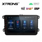 8 inch Navigation Multimedia Player with Built-in DSP Fit For VW / SEAT / SKODA