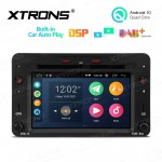 6.2 inch Multimedia Car DVD Player Navigation System with Built-in CarAutoPlay and DSP Fit for Alfa Romeo