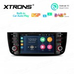 6.2 inch Android 10.0 Multimedia Car Stereo Navigation System With Built-in CarAutoPlay and DSP for FIAT