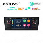 6.1 inch Android 10.0 Multimedia Car Stereo Navigation System With Built-in CarAutoPlay and DSP for FIAT