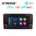 7 inch Multimedia Car DVD Player Navigation System With Built-in CarAutoPlay and DSP Fit for Audi A3