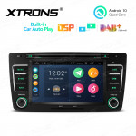 7 inch Android 10.0 Multimedia Car DVD Player Navigation System With Built-in CarAutoPlay and DSP For SKODA