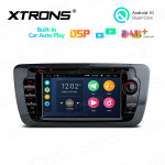 7 inch Multimedia Car DVD Player Navigation System With Built-in CarAutoPlay and DSP Fit for Seat