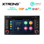 7 inch Multimedia Car DVD Player Navigation System With Built-in CarAutoPlay and DSP With Instant Rear Vision Fit for SEAT