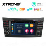 7 inch Multimedia Car DVD Player Navigation System With Built-in Wired CarAutoPlay and DSP Fit for Mercedes-Benz E-Class W211 and CLS Class W219