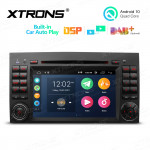 7 inch Multimedia Car DVD Player Navigation System With Built-in Wired CarAutoPlay and DSP Fit for Mercedes-Benz