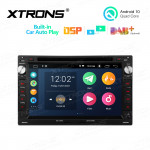 7 inch Multimedia Car DVD Player Navigation System With Built-in Wired CarAutoPlay and DSP for Volkswagen/SEAT/SKODA