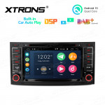 7 inch Android 10 Multimedia Car DVD Player Navigation System With Built-in Wired CarAutoPlay and DSP for Volkswagen