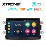 8 inch Android 10 Multimedia Car Stereo Navigation System With Built-in CarAutoPlay and DSP Fit for Dacia and Renault