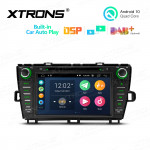 8 inch Android 10 Multimedia Car DVD Player Navigation System With Built-in CarAutoPlay and DSP Fit for TOYAOTA Prius (Right Hand Drive)