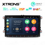 9 inch Android 10.0 Multimedia Car Stereo Navigation System With Built-in CarAutoPlay and DSP for VW, Skoda and SEAT