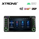 6.2 inch Navigation Multimedia Player with Built-in DSP Fit for TOYOTA