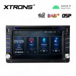 6.2 inch Navigation Multimedia Player with Built-in DSP Fit for Nissan