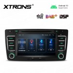 7 inch Navigation Multimedia Player with Built-in DSP fit for SKODA