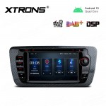 7 inch Navigation Multimedia Player with Built-in DSP Fit for SEAT
