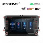 7 inch Navigation Multimedia Player with Built-in DSP Custom Fit for VW/SEAT/SKODA