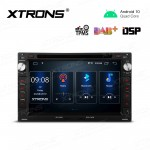 7 inch Navigation Multimedia Player with Built-in DSP Fit for Volkswagen/SEAT/SKODA