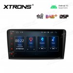 8 inch Navigation Multimedia Player with Built-in DSP Fit for Audi