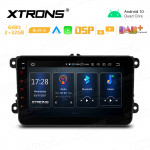 8 inch Android 10 GPS Multimedia Player With Built-in CarAutoPlay and Android Auto and DSP for VW / SEAT / SKODA