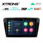 10.1 inch IPS Screen 2GB RAM 32GB ROM Car GPS Navigation Multimedia Player With Built-in CarAutoPlay and DSP Fit For SKODA
