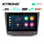 """10.1"""" IPS Screen 2GB RAM 32GB ROM Car GPS Navigation Multimedia Player with Built-in CarAutoPlay and DSP Fit for Lexus"""