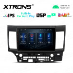 10.1 inch IPS Screen 2GB RAM 32GB ROM Car GPS Navigation Multimedia Player With Built-in CarPlay and DSP Fit For Mitsubishi