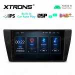 "9"" IPS Screen 2GB RAM 32GB ROM Car GPS Navigation Multimedia Player With Built-in Wired CarAutoPlay and DSP Fit for BMW"