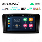 """9"""" IPS Screen 2GB RAM 32GB ROM Car GPS Navigation Multimedia Player with Built-in CarAutoPlay and DSP Fit for Mercedes-Benz"""