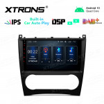 9 inch IPS Screen 2GB RAM 32GB ROM Car GPS Navigation Multimedia Player with Built-in CarPlay and DSP with Full RCA Output Fit for Mercedes-Benz