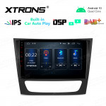 9 inch IPS Screen 2GB RAM 32GB ROM Car GPS Navigation Multimedia Player with Built-in CarPlay and DSP with Dual Theme Fit for Mercedes-Benz